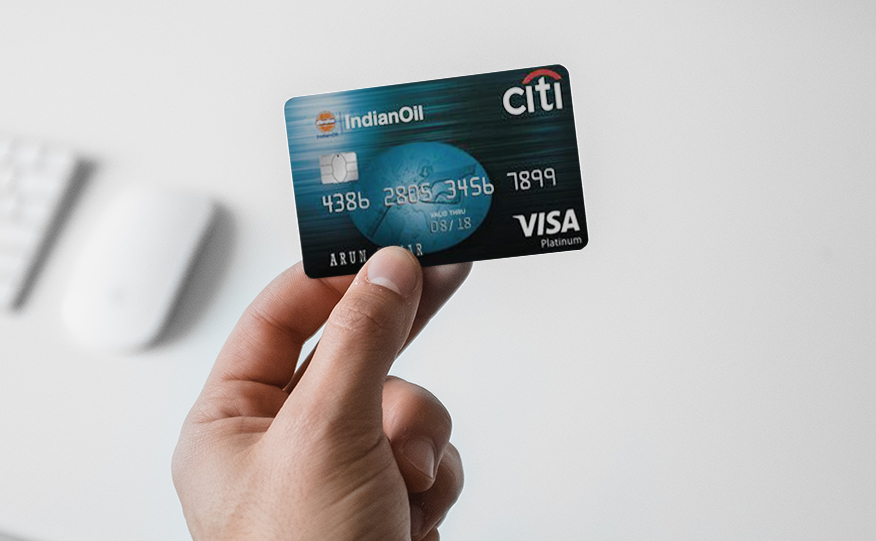 IndianOil CitiBank Credit Card Application