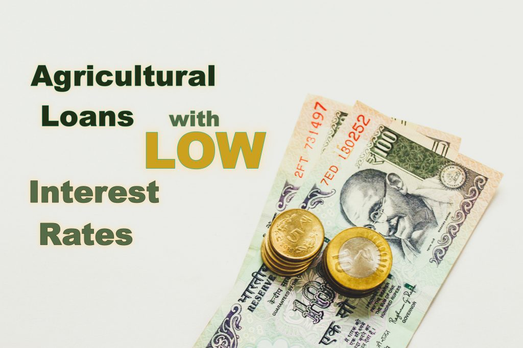 Agricultural Loans with Loan interests