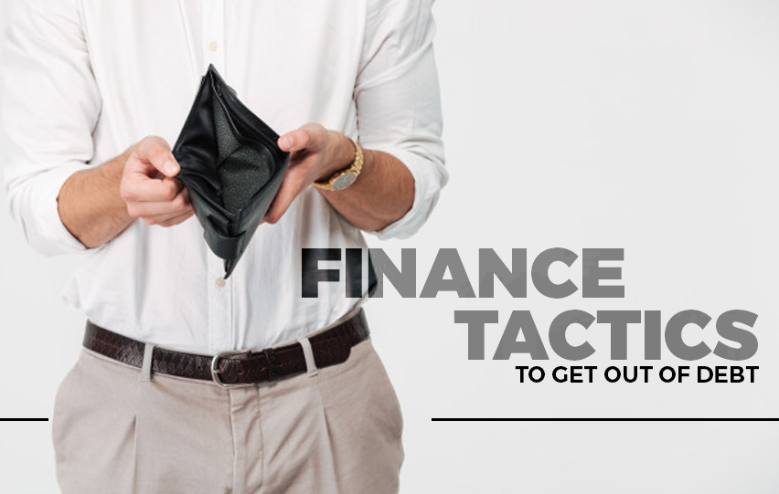 Easy Finance Tactics to Get Out of Debt